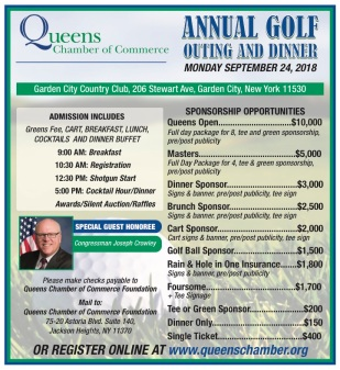 Annual Golf Outing Flyer